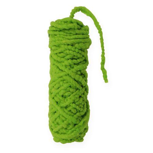 Filcowy sznur polar Mirabell 25m zielony