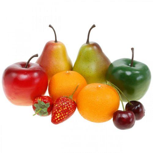 Owoce dekoracyjne, mix owoców sztucznych L5-8,5cm