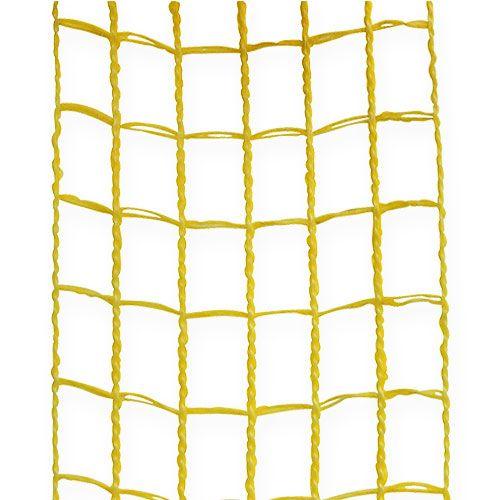 Taśma kratowa 4,5cm x 10m Żółta