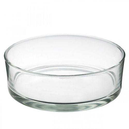 Miska szklana Ø25cm H8cm
