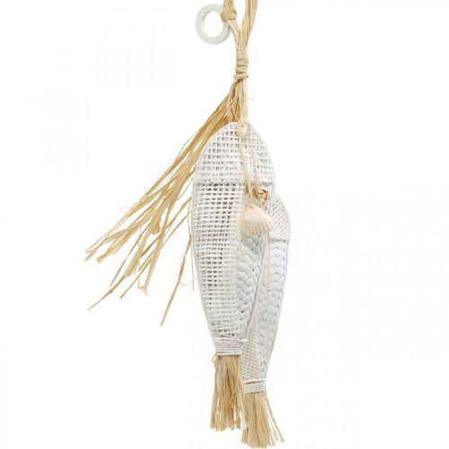 Ryby do powieszenia, Morski, Dekohänger z rybami, Tropikalna dekoracja na imprezę