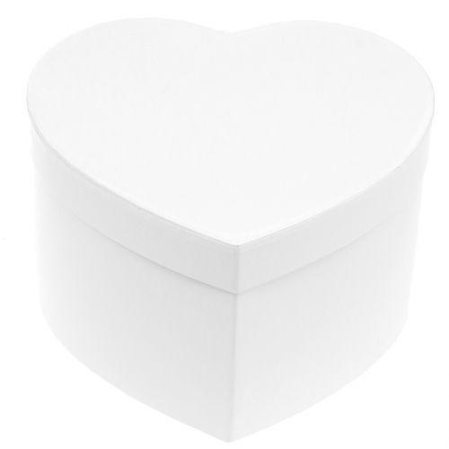 Pudełko kwiatowe w kształcie serca 18 / 20cm 2szt