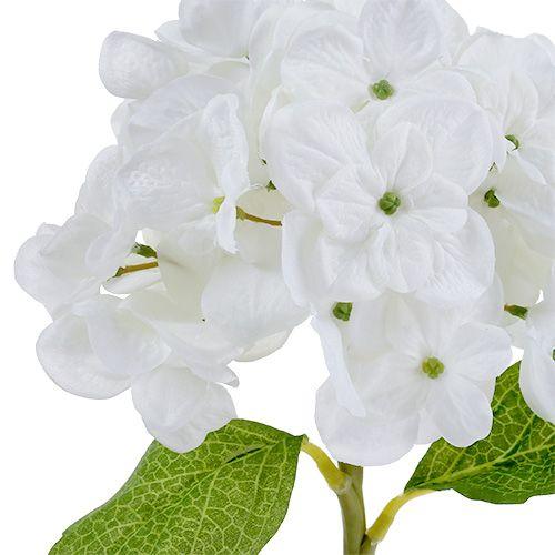 Hortensja 35cm Biała