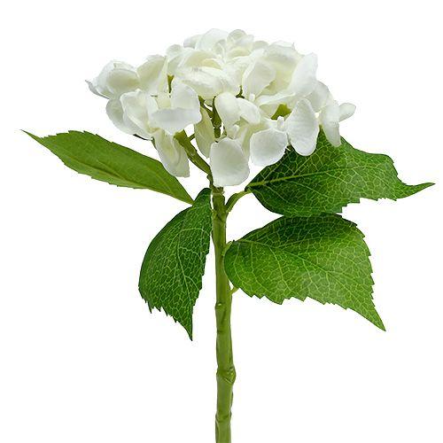 Hortensja 33cm Biała 1szt.