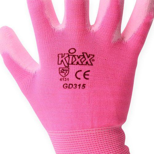 Kixx Rękawice ogrodnicze Rozmiar 8 Różowy, Różowy