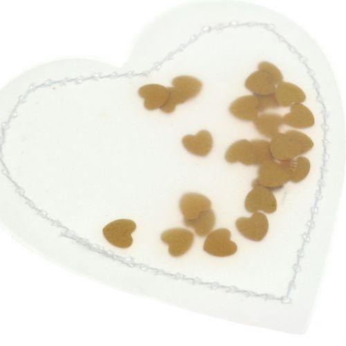 Konfetti serce złote 5cm 24szt