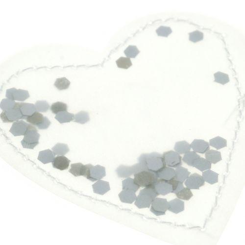 Serce konfetti 5cm 24szt