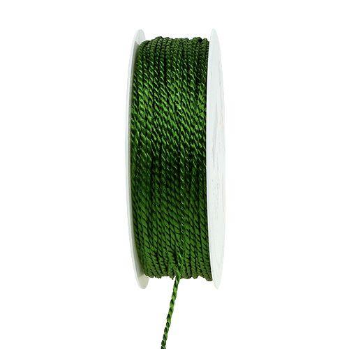 Sznurek mech zielony 2mm 50m