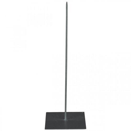Stojak na wieńce czarny Metalowy stojak na wieńce H30cm