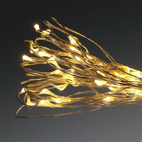 Lampki LED outdoor/indoor 180s 8,95m ciepła biel