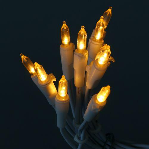 Mini łańcuszek LED 10L biały ciepły biały 1,5m