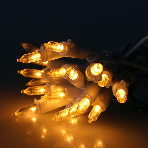 Mini łańcuszek LED 20L biały ciepły biały 3m