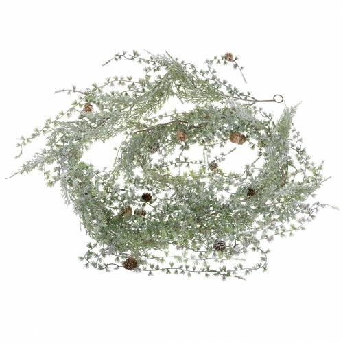 Girlanda Modrzewiowa Zielona/Geist z Szyszkami 180cm