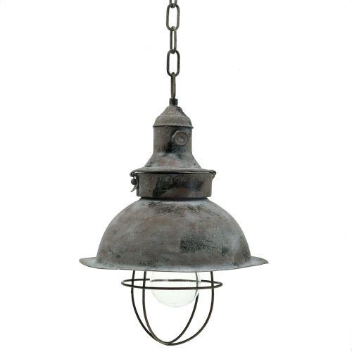 Lampa do zawieszenia antyczna Ø22cm H33cm