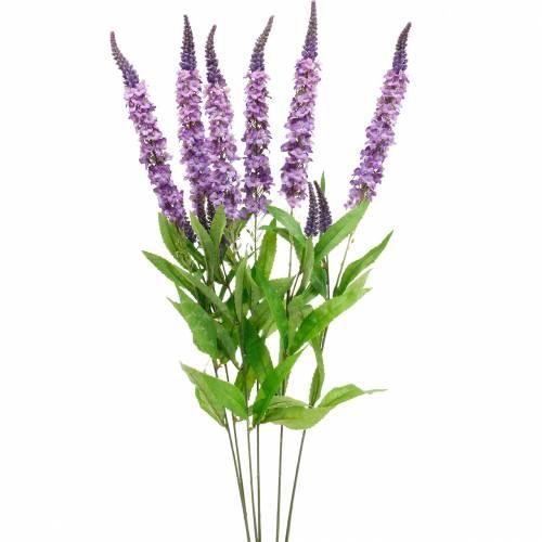Motyl liliowy, sztuczny liliowy, kwiat jedwabiu, liliowy letni 6szt