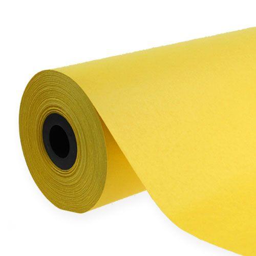 Papier mankietowy 37,5cm 100m Żółty