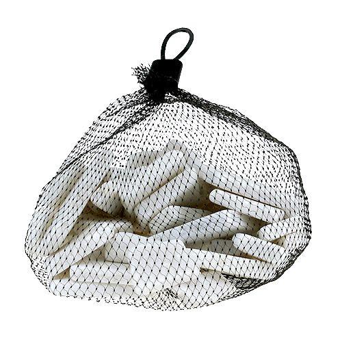 Kamienie mozaikowe białe mix 1kg