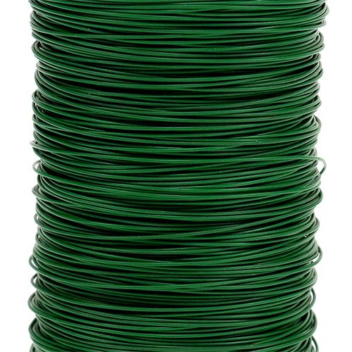 Drut dla florystów Zielony 0,35 mm 100g