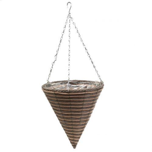 Stożek do lampy koszowej naturalny Ø30cm W36cm