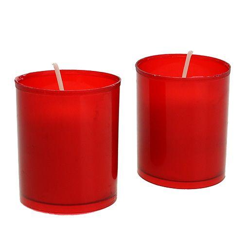 Zapasowa świeca do grobowego wkładu uzupełniającego grobowe lampy 20 szt
