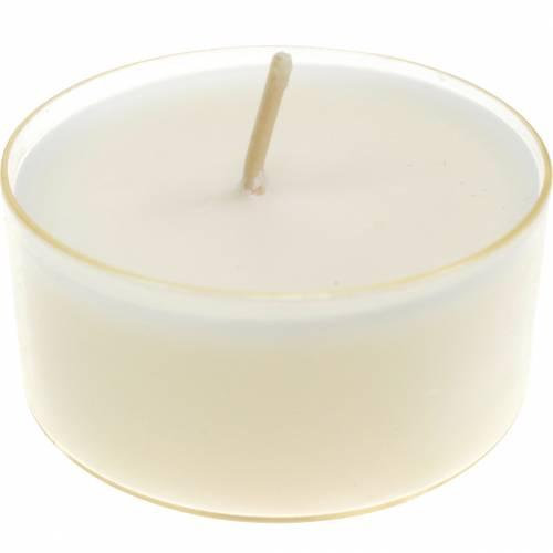 Podgrzewacze Pure Nature Lights czas palenia 10 godzin Świece wosk rzepakowy 8szt