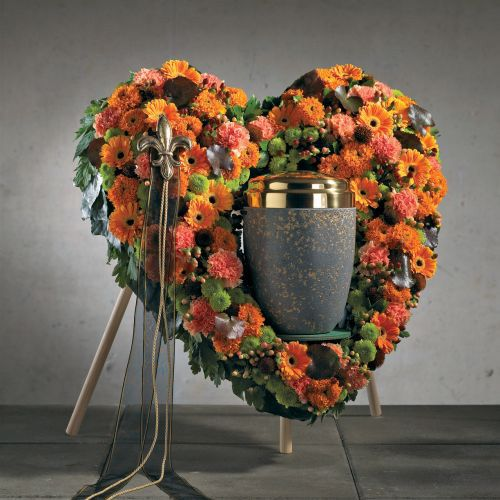 OASIS® Bioline® Deco serce urny 65 cm ze stojakiem