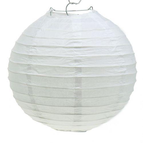 Lampion papierowy biały Ø30cm