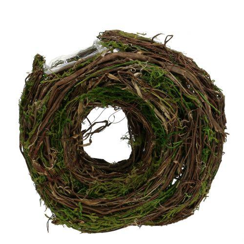 Wieniec roślinny natura 28cm x 30cm