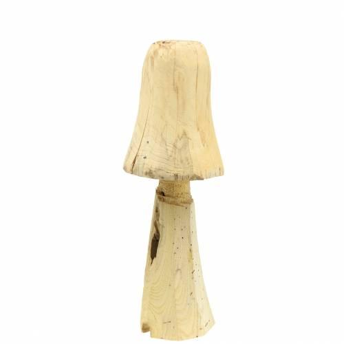 Grzybek drewno sosnowe Ø18cm H35cm