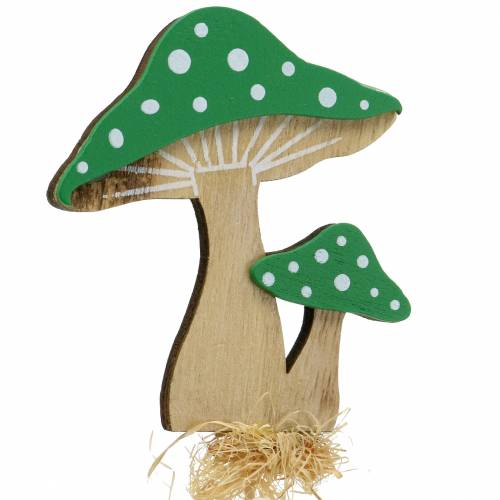 Korek dekoracyjny jesienny grzybek różny H28cm 12szt.
