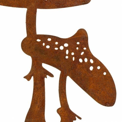 Korek ogrodowy para grzybów rdza H49,5cm