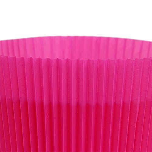 Mankiety plisowane cerise 8,5cm 100szt.