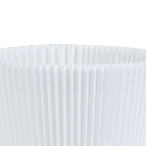 Mankiety plisowane białe 8,5cm 100szt.