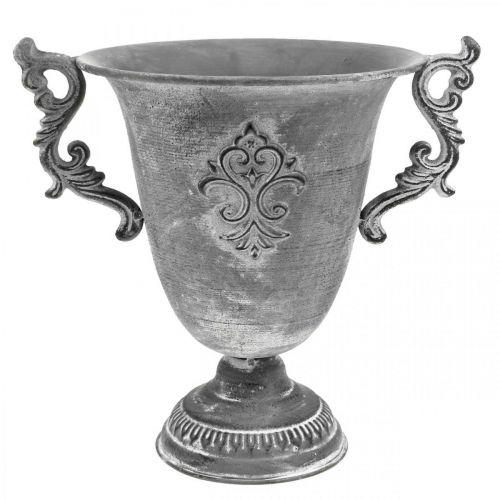 Puchar szary Ø20,5cm H26,5cm