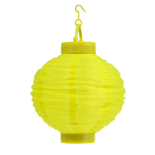 Lampion LED z Solar 20cm Żółty
