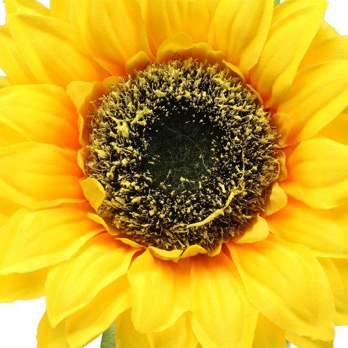 Słonecznik sztuczny do dekoracji Ø15cm