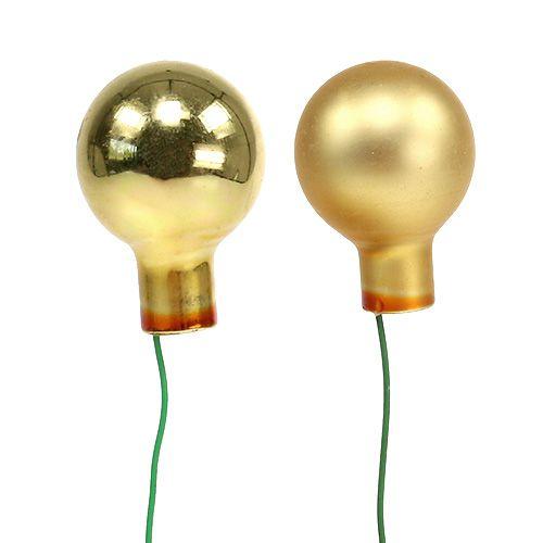 Mini bombki 20mm Gold Mix 140St_pl