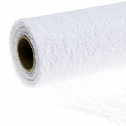 Taśma Koronkowa Biała 150mm 15m