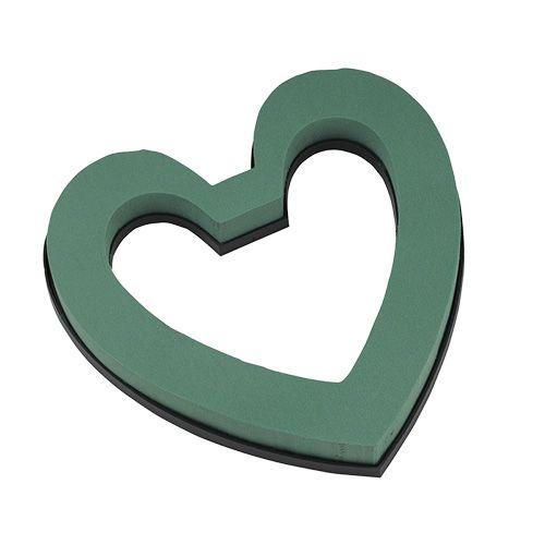 Masa korkowa serce otwarte 22cm 4szt