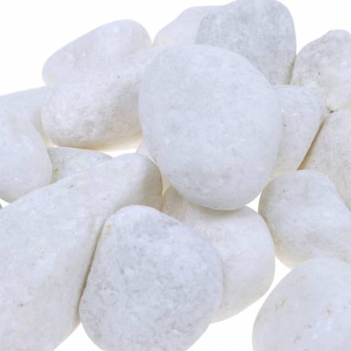 Kamień rzeczny natura biały 3-5cm 1kg