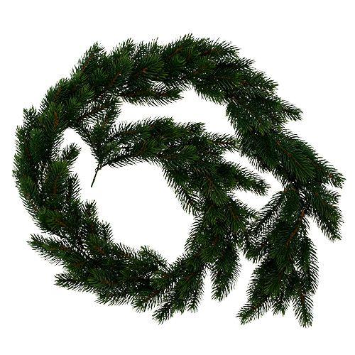 Wianek jodłowy okrągły wiązany zielony 190cm