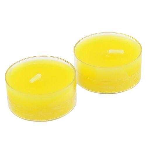 Tealighty Żółte 18szt.