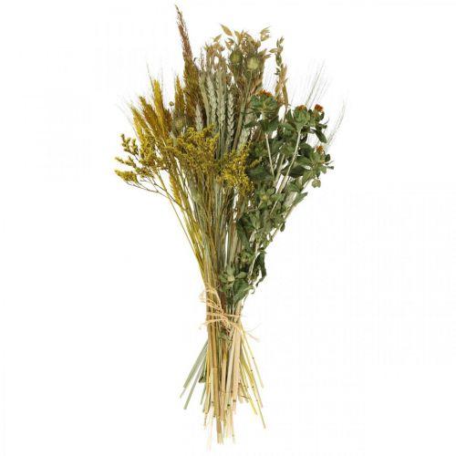 Suszone kwiaty DIY Zestaw żółty do suszenia bukietów 60cm