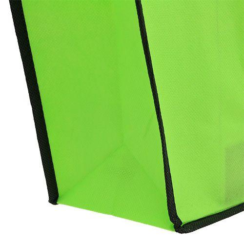 Torba fizelinowa zielona 38cm x 32cm 1szt.