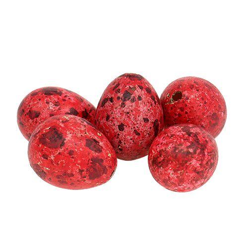 Jajko przepiórcze czerwone 3cm 60szt