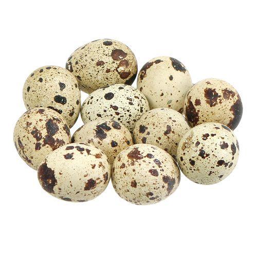 Jaja przepiórcze naturalne 3-3,5cm 12szt