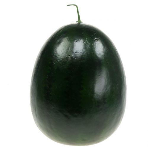 Arbuz sztuczny zielony 30cm