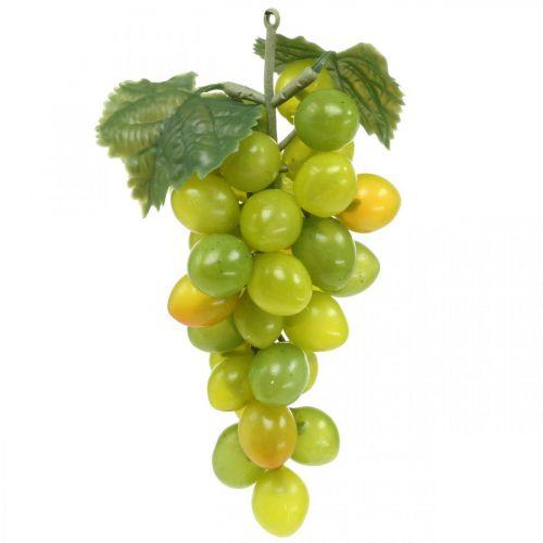 Deco Grape Green Autumn Dekoracja Sztuczny Owoc 15cm