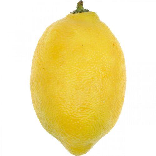 Sztuczne owoce, cytryna, owoce dekoracyjne L8,5cm Ø5cm 4szt.