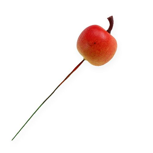 Sztuczne Jabłko 3cm na druciku 24szt